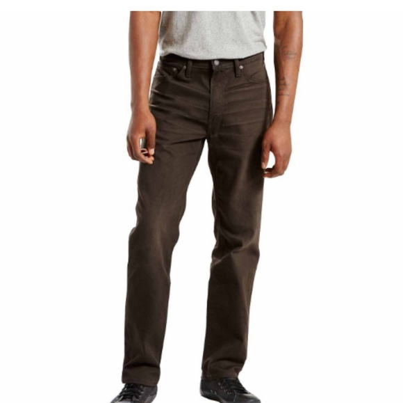2edc90e18b2 Levi's Jeans | Levis 541 Athletic Fit Stretch Dark Brown | Poshmark